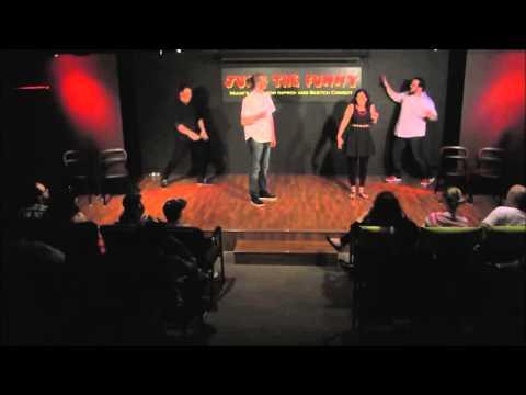 North Coast NYC - Gym Hip Hop Improv at Just The Funny