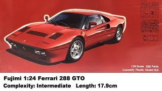 Fujimi 1:24 Ferrari 288 GTO Kit Review