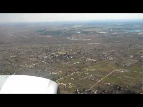 Landing at Harare International Airport, Zimbabwe
