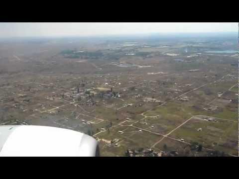 Landing At Harare International Airport, Zimbabwe