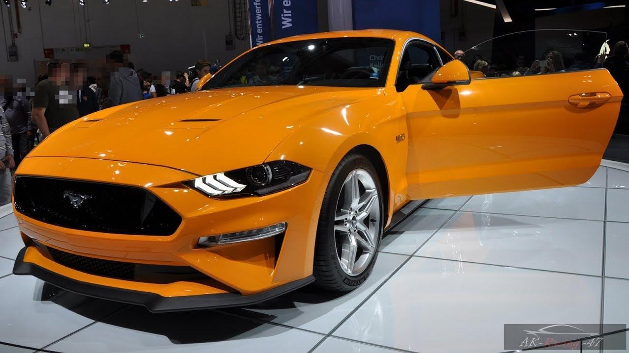 2020 Ford Mustang 5 0 Gt Interior Exterior Fastback