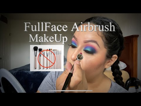 Airbrush Makeup ( No Brushes ) Dinair