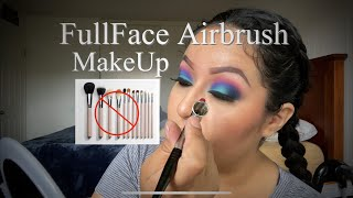 Airbrush Makeup ( No Brushes ) Dinair