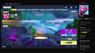[FR] FORTNITE BATTLE ROYALE / THE RETOUR OF GHOOL SKIN?!