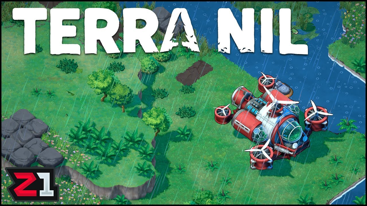 Turning Another Wasteland Into An Oasis ! Terra Nil Gameplay [E2] | Z1 Gaming
