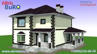 видео Двухэтажные дома с террасой