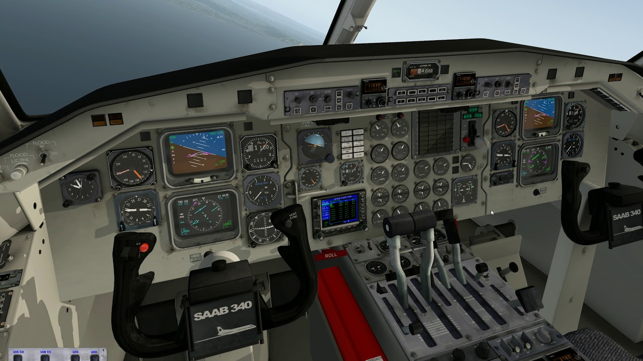Saab 340 Tutorial Video - Saab 340A - X-Pilot