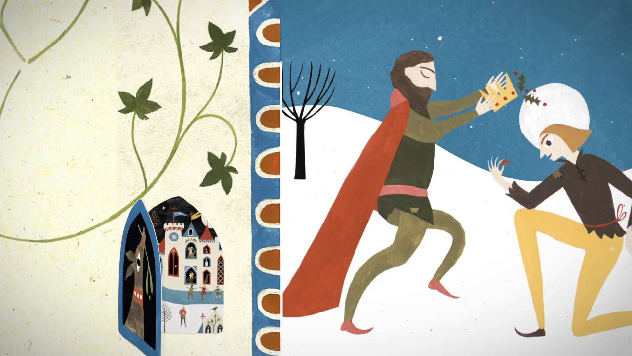 THE KING OF CHRISTMAS by Carol Ann Duffy | Book Trailer - YouTube