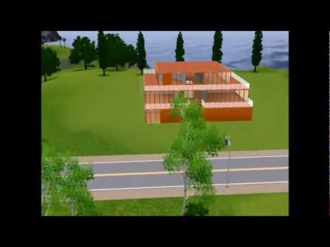 Sims 3 modernes haus bauen youtube for Modernes haus sims 3