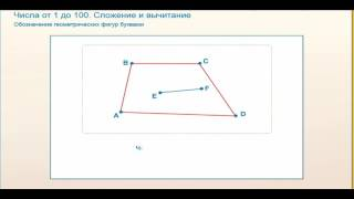 обозначение геометрических фигур буквами