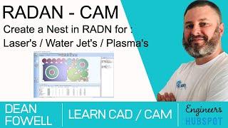 Create A Radan Nest | Dean Fowell