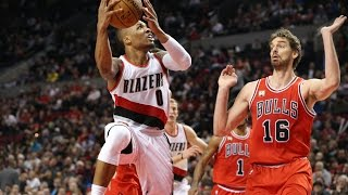 Highlights: Trail Blazers 88, Bulls 93