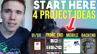 START HERE - 4 PORTFOLIO STARTER PROJECT IDEAS #grindreel