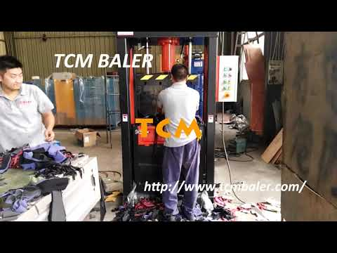 Automated bagging system clothes industrial