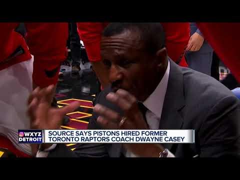 Detroit Pistons hire Dwane Casey as new head coach