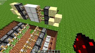 Minecraft 1.2.5 Piston Trap - Improved and Amazing for Servers!
