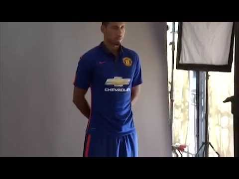 d069c468da1 Manchester United 2014-15 Third Kit Launch - YouTube