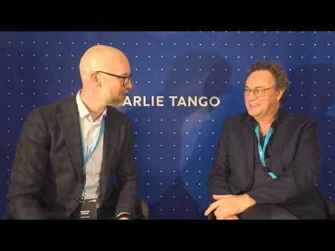 Charlie Tango Live Studio at Digital Copenhagen with Gerd Leonhard