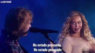 Beyoncé & Ed Sheeran - Drunk In Love (Acoustic Live) [Subtitulado Español]