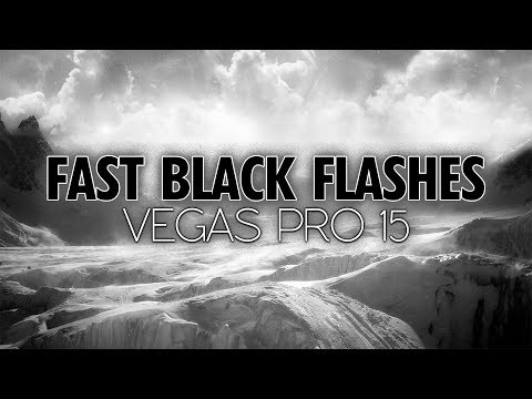 Vegas Pro 15: How To Make Fast Black Flashes For Music Videos - Tutorial #260