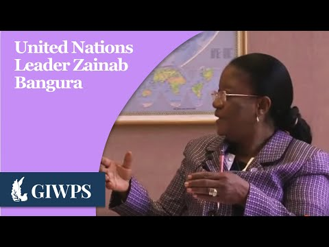 Profiles in Peace: H.E. Zainab Bangura
