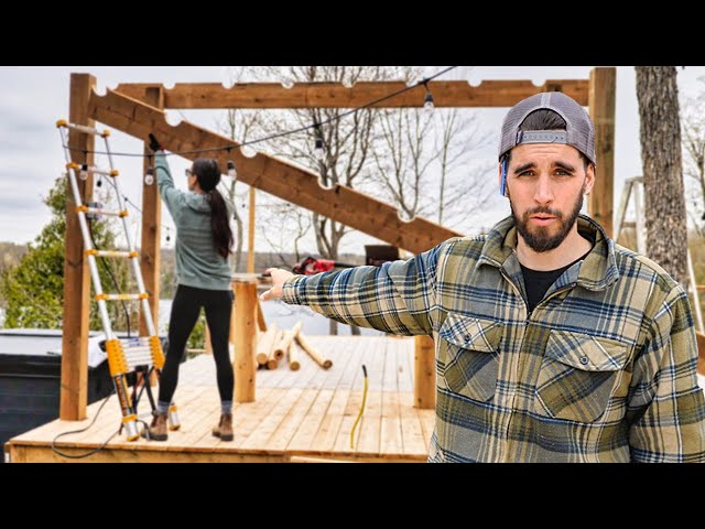 Building an Outdoor Kitchen in 72 Hours