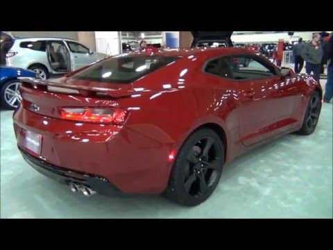 All New 2016 Camaro Ss Coupe Baltimore Motor Trend Auto Show