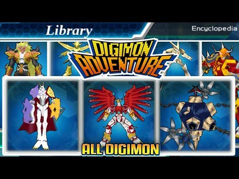 Digimon Adventure - 100% Encyclopedia All Digimon In The Game (English)