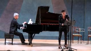 """Mahnung"" by Schoenberg (Marta Knörr & Dimitri Vassilakis)"