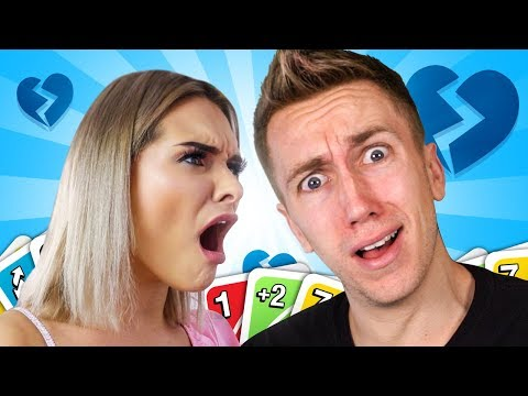 This UNO game almost broke us up... |