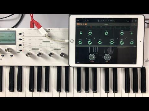 MOOD Synth - iPad Demo - Live Stream