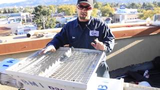 How to use a BMI D30 stucco mixing pump