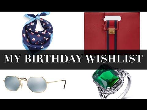 My Birthday Wish List • Ray- Ban • Saint Laurent • Coach • Mens Fashion • Chris Garceś