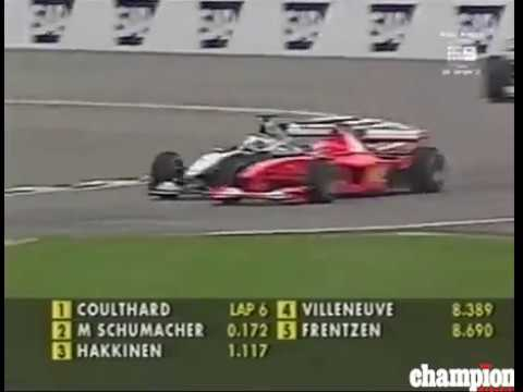 usa grand prix 2000 f1 at indianapolis schumacher vs coulthard youtube. Black Bedroom Furniture Sets. Home Design Ideas