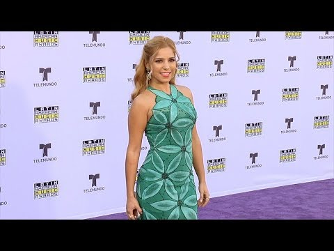 Elva Saray 2017 Latin American Music Awards Purple Carpet thumbnail