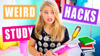 Weird Study Tips and Hacks: Get an easy A on your exams!