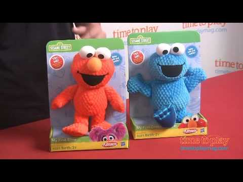 Sesame Street My First Plush Assortment from Hasbro