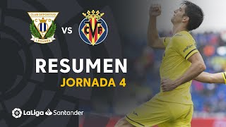 Resumen de CD Leganés vs Villarreal CF (0-3)