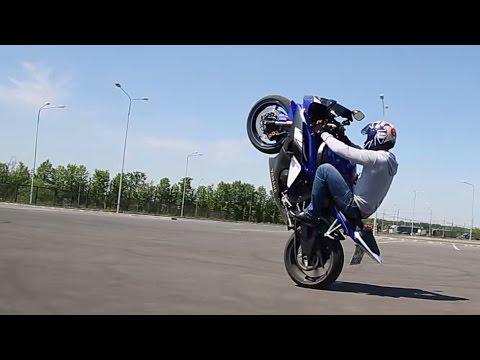 Yamaha YZF R6 Stunt - YouTube