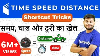 Maths Time Speed Distance Tricks for RRB ALP/Group D Exam | Day #48