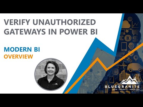 Unauthorized Gateways [Power BI]