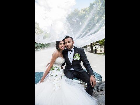 Aushine Weds Prasanna Montreal Tamil Sri lankan Christian wedding