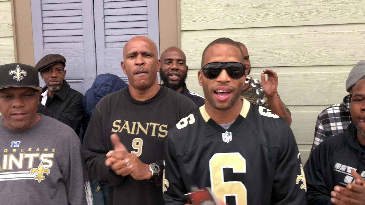 Watch New Orleans music stars do the Saints WHO DAT chant