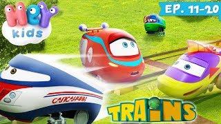 Desene animate 🚂 Trenuletele (Ep. 11-20) | HeyKids