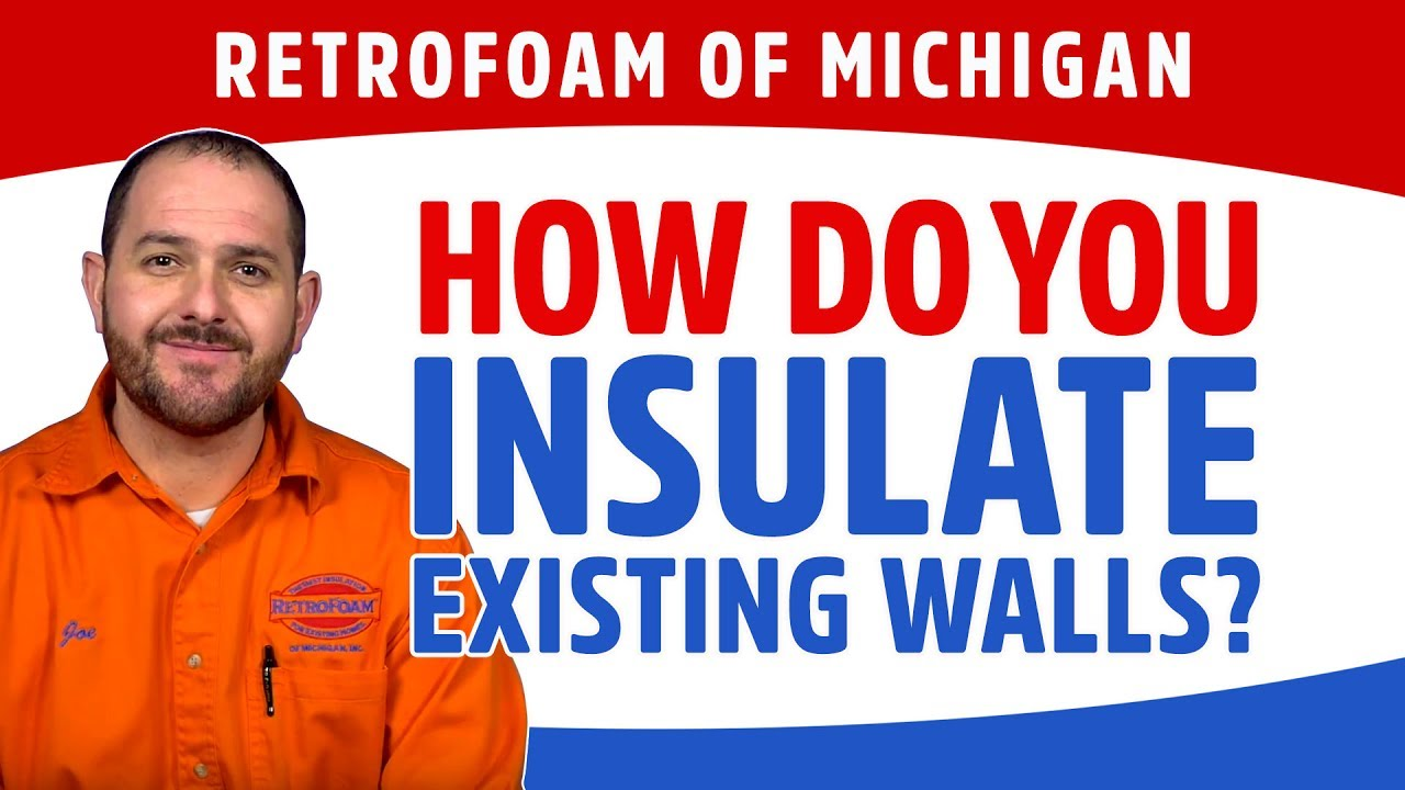 How do you insulate existing walls youtube how do you insulate existing walls solutioingenieria Image collections