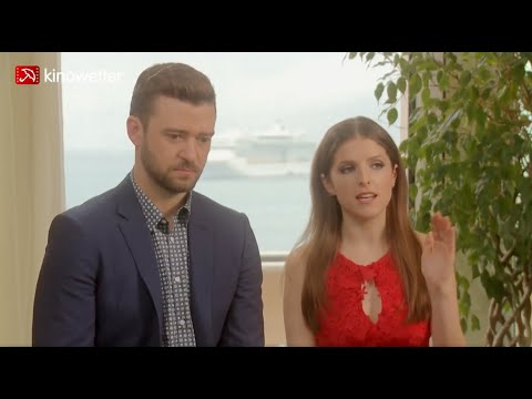 Interview Justin Timberlake & Anna Kendrick TROLLS Cannes 2016