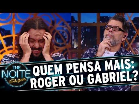 The Noite (16/08/16) - Roger vs. Gabriel, o Pensador: quem é o maior pensador?