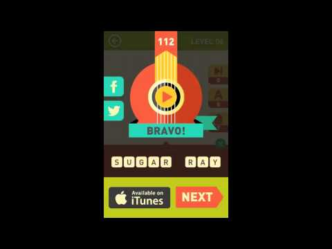 Icon Pop Song Level 6 Answers