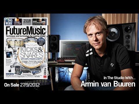 Armin van Buuren In The Studio With Future Music Magazine issue 258