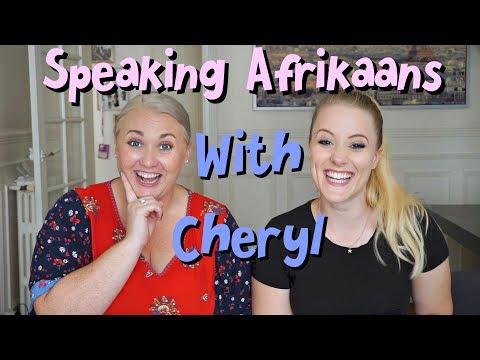 British Girl Tries To Speak Afrikaans